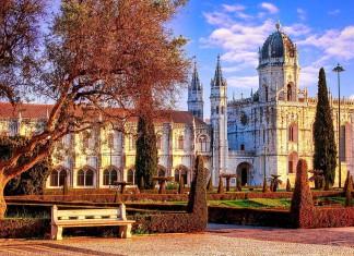 Il Monasteiro dos Jeronimos a Lisbona
