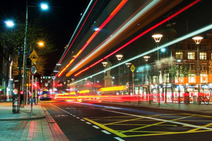 O' Connell Street a Dublino.