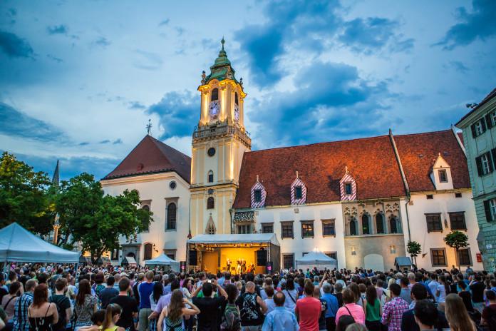 Il Vecchio Municipio di Bratislava