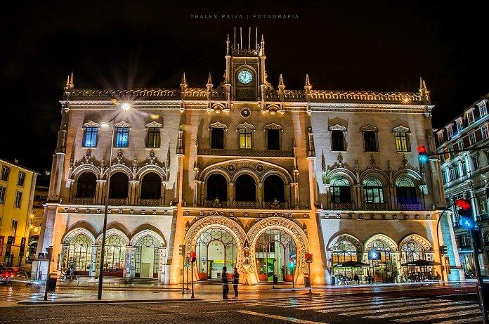 Stazione del Rossio a Lisbona