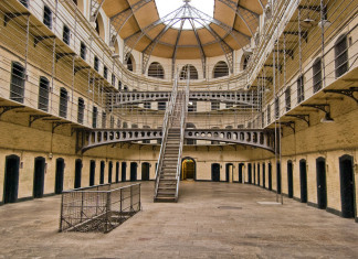 La Prigione di Kilmainham a Dublino.