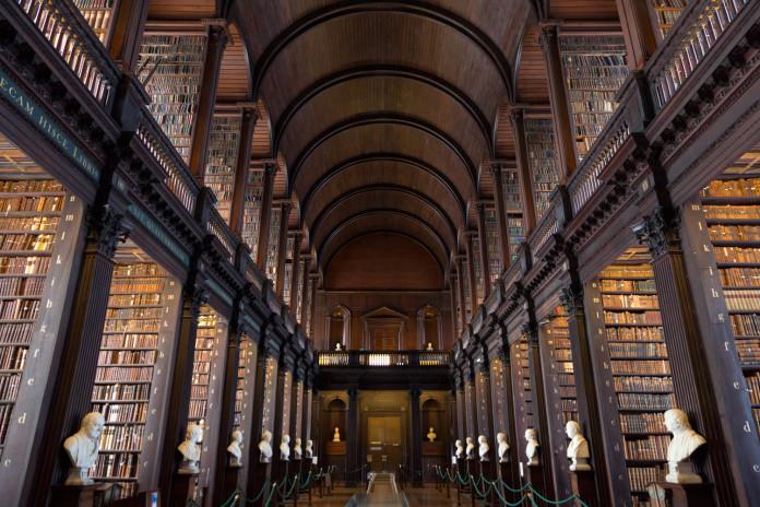 Il Trinity College di Dublino.
