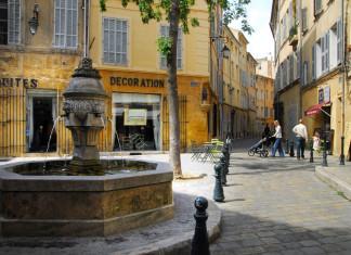 Aix-en-Provence in Provenza.