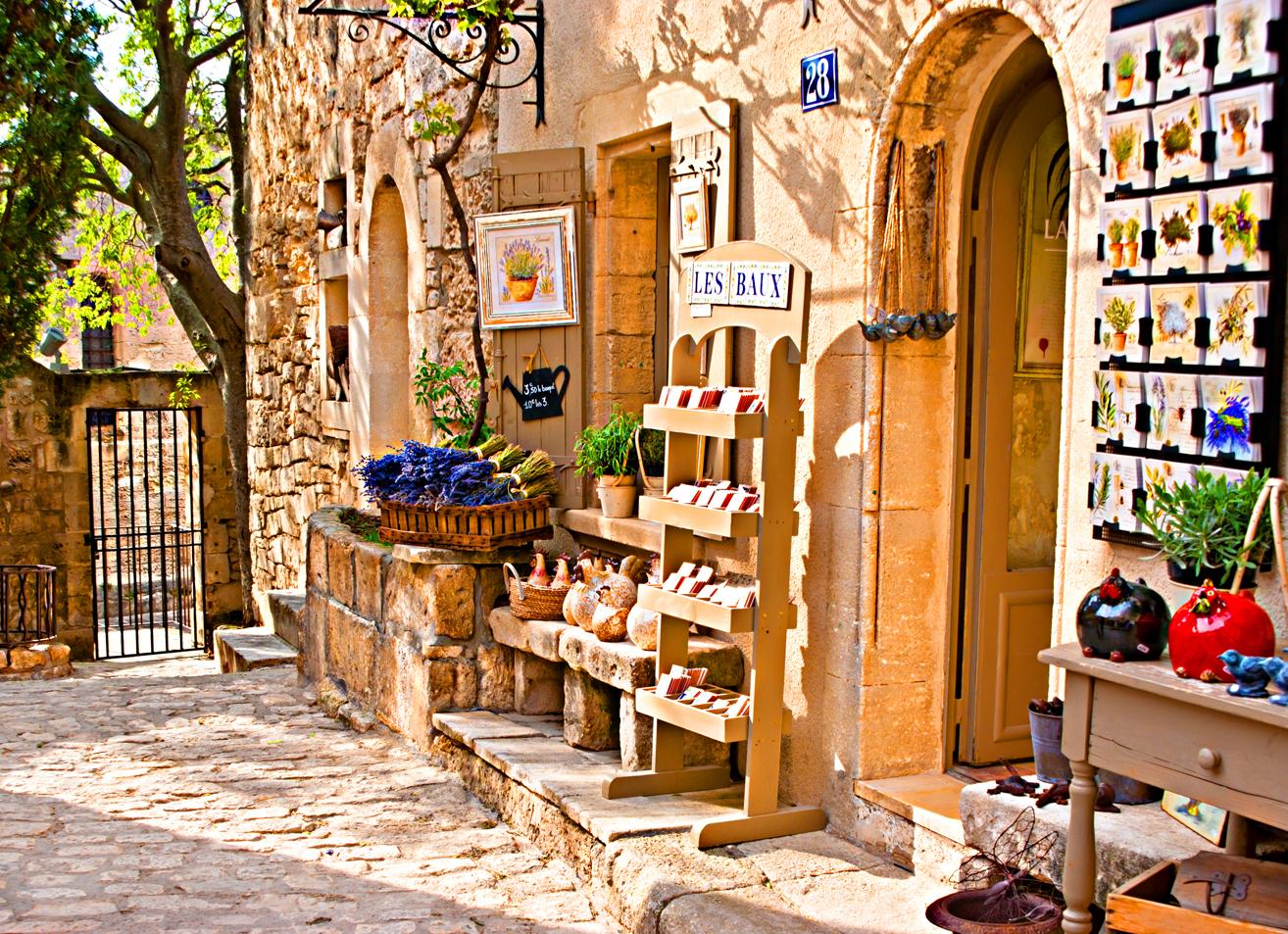Botteghe a Les Baux-de-Provence