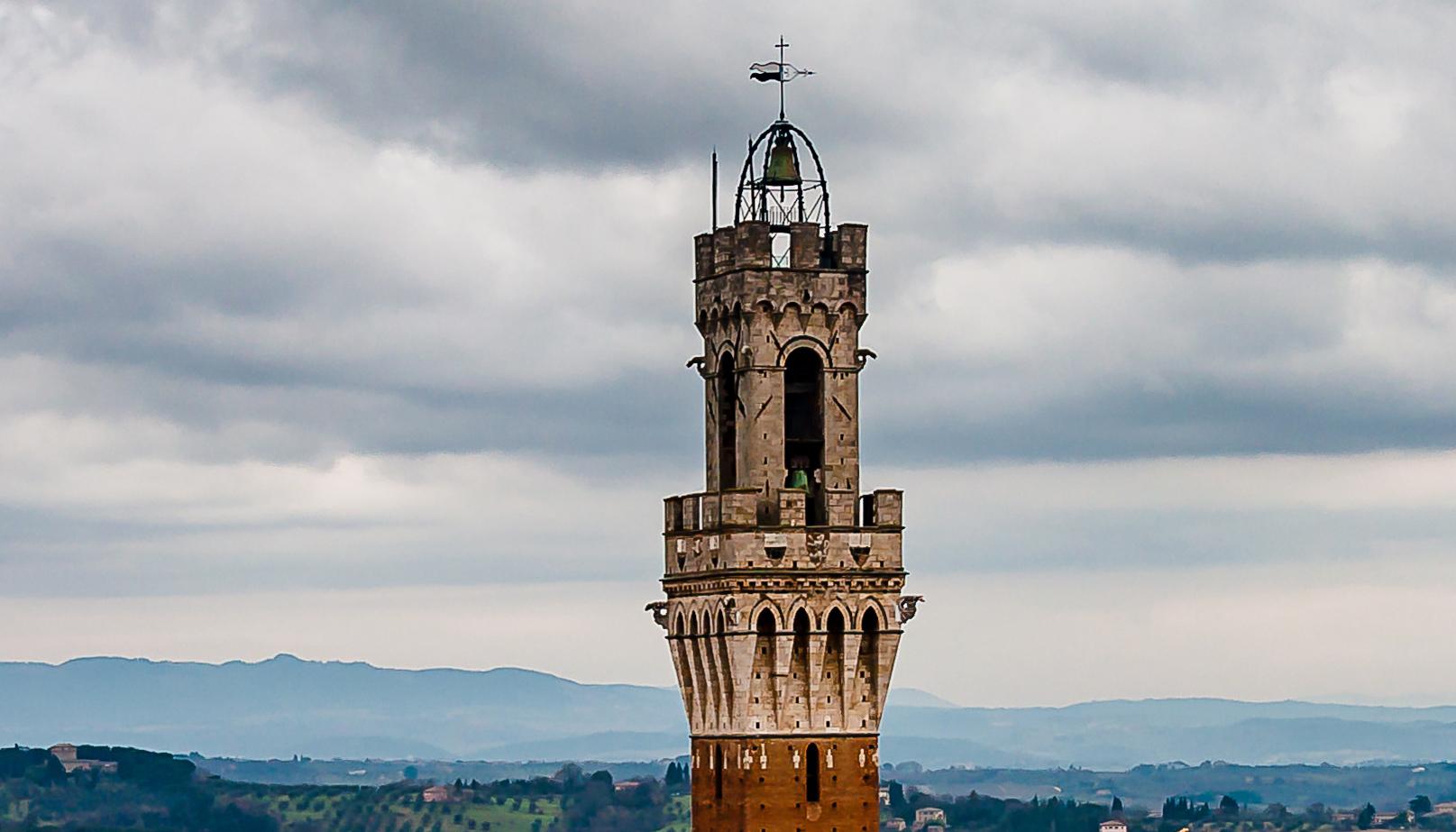 La Campana della Torre del Mangia a Siena