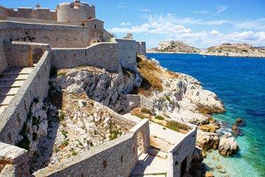 Il Castello d'If e le Isole delle Frioul
