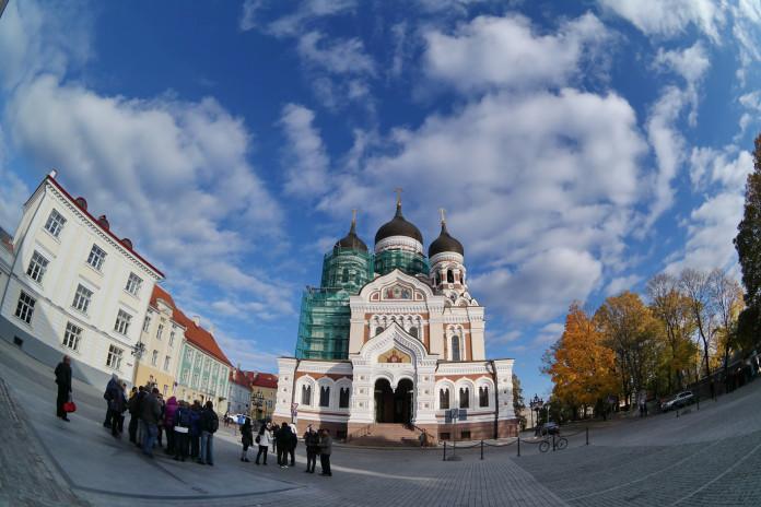 La Cattedrale Aleksander Nevski a Tallinn