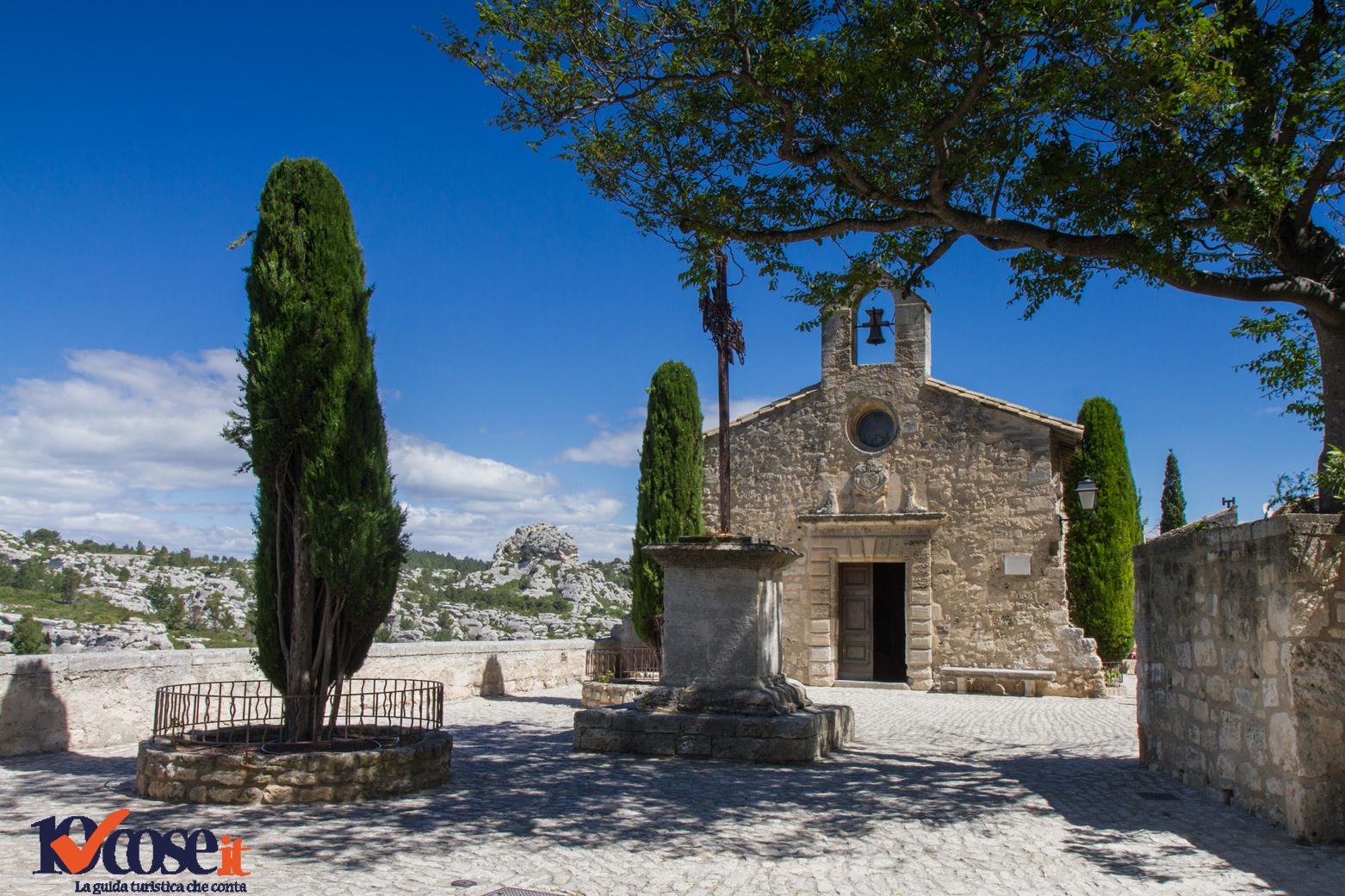 La chiesa dei Penitenti Bianchi a Les Baux-de-Provence