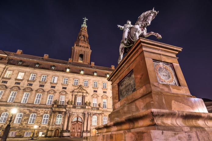 Il Palazzo di Christianborg a Copenaghen