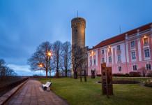 La collina di Toompea a Tallinn