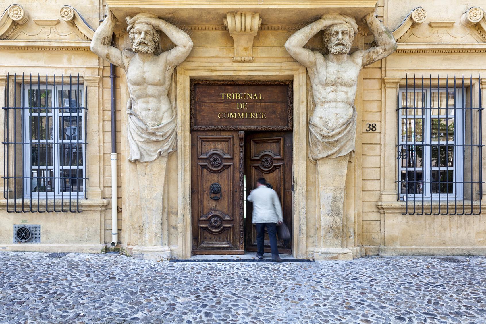 Il Cour Mirabeau ad Aix-en-Provence