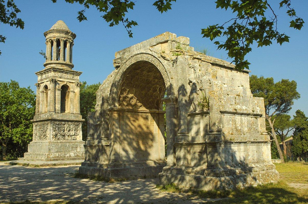 Mausoleo e Arco di Trionfo dell'Antica Glanum.
