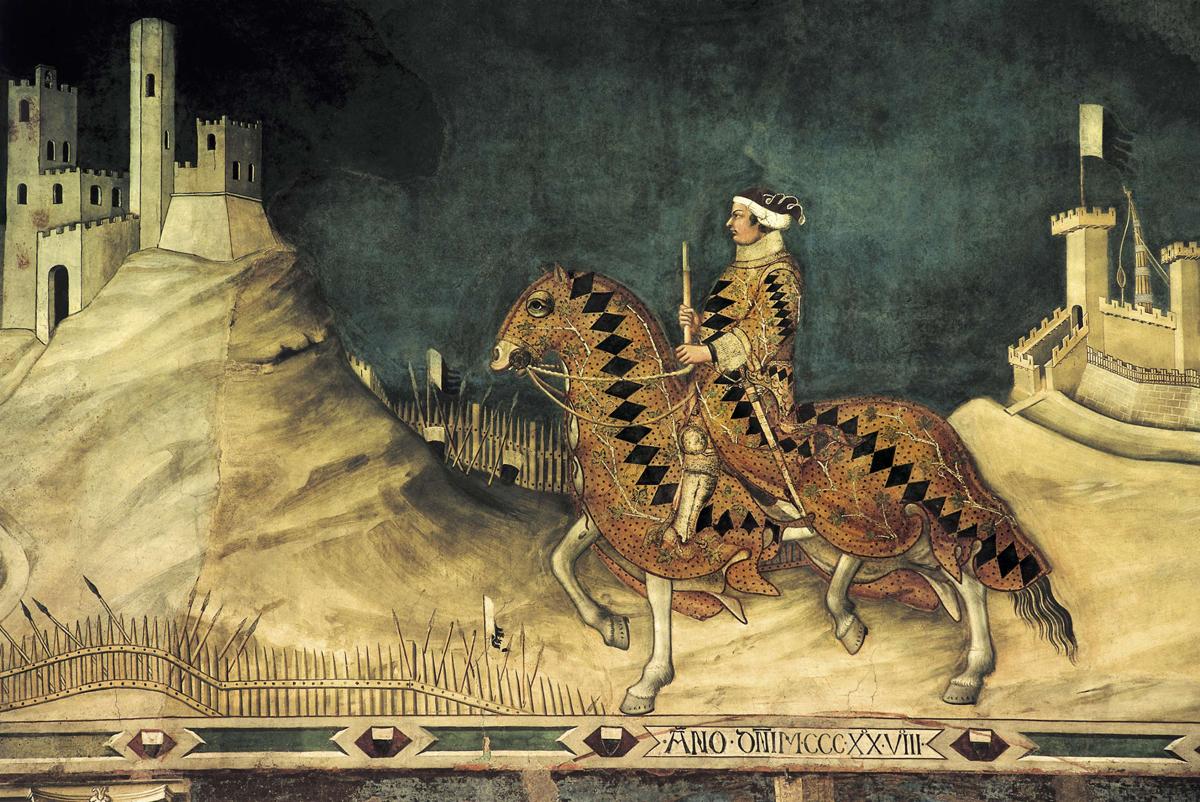 Guidoriccio da Fogliano di Simone Martini