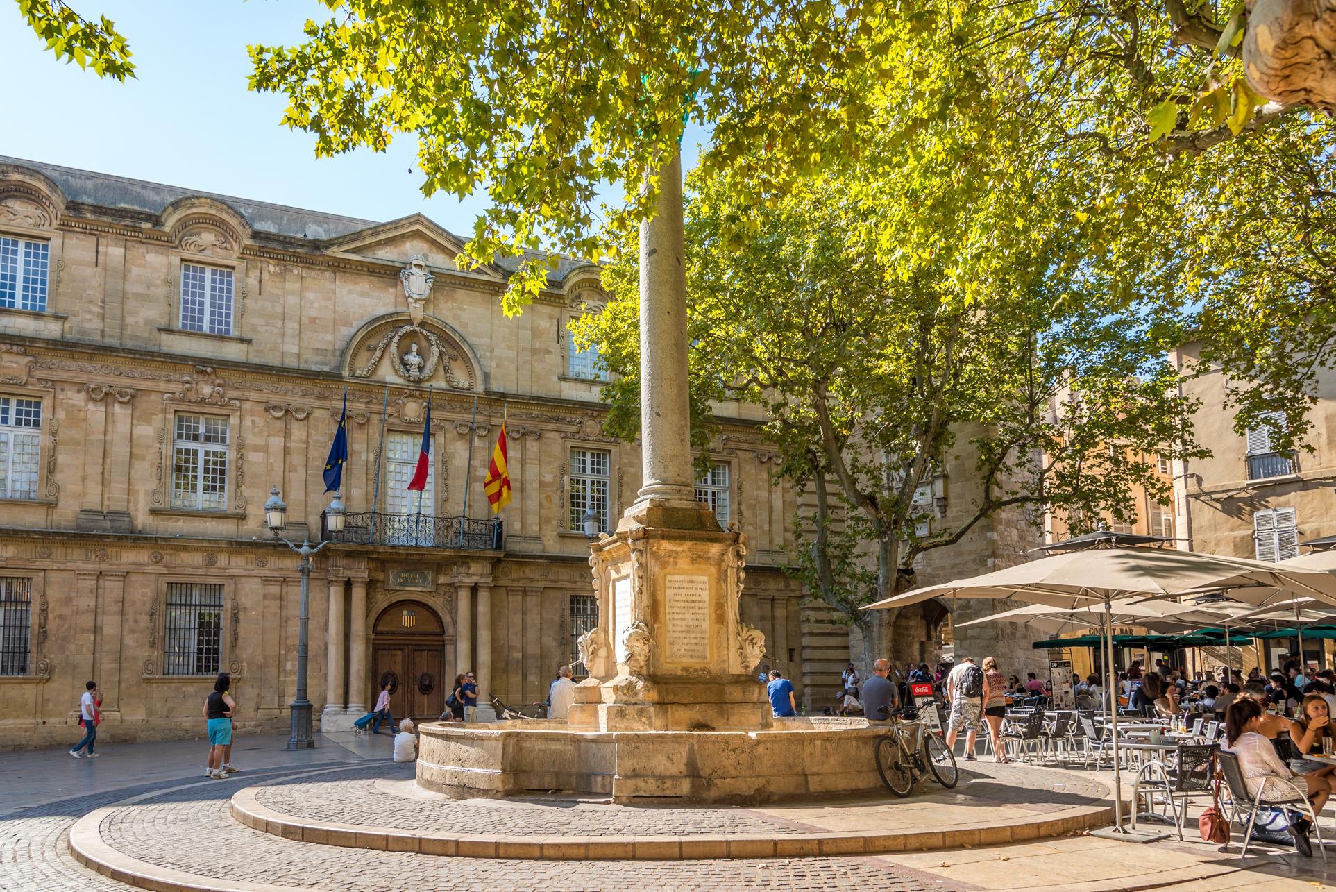 L'Hotel de Ville ad Aix-en-Provence