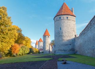 Le mura storiche della Città Vecchia di Tallinn