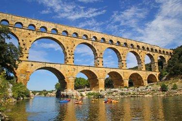 Il Pont du Gard a Nimes