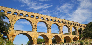Il Pont du Gard in Provenza
