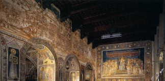 La Sala del Mappamondo a Siena