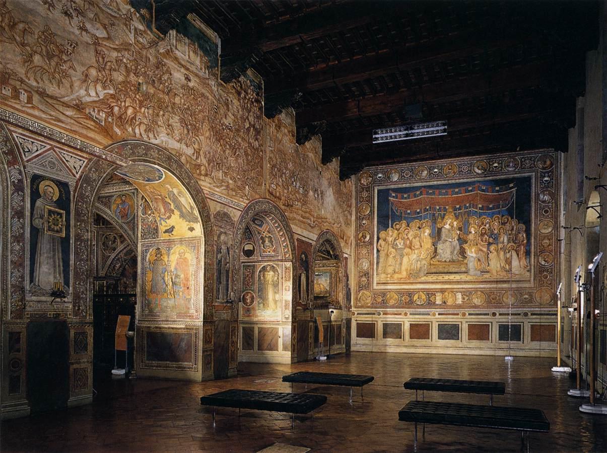 Sala Del Consiglio Dei Nove Siena.Il Museo Civico Di Siena