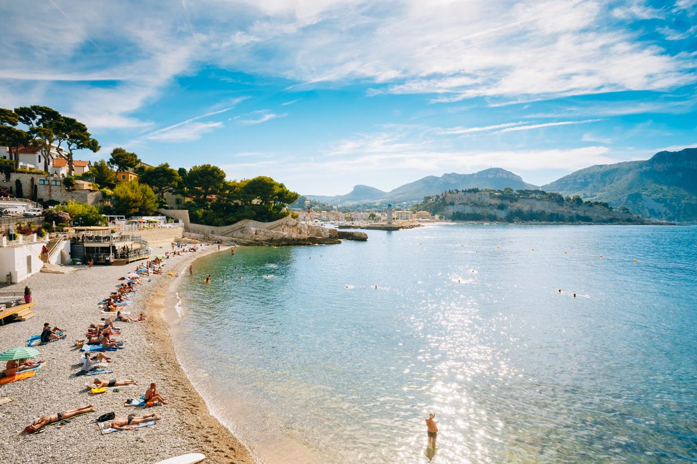 Le spiagge di Cassis in Provenza