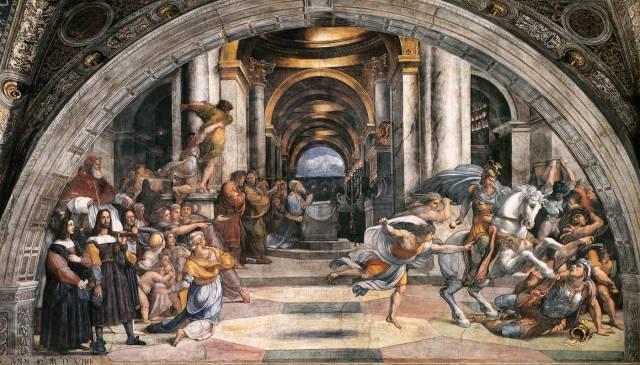 La cacciata di Eliodoro dal Tempio