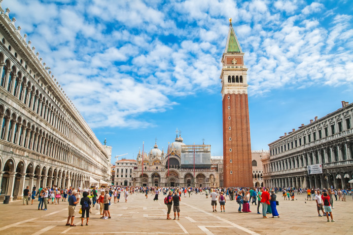 Il Campanile di San Marco a Venezia