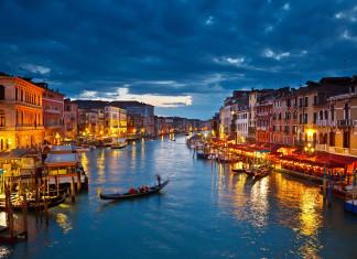 Il Canal Grande a Venezia
