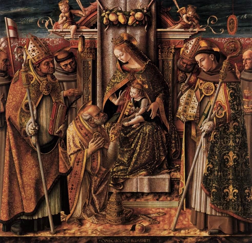 La Pietà di Carlo Crivelli