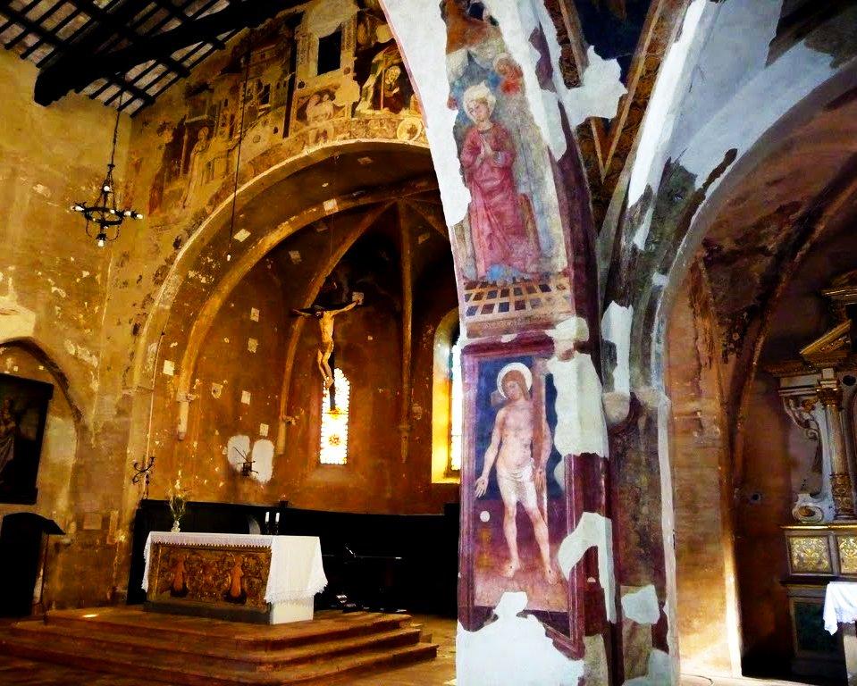 La Chiesa di Sant'Agostino a Montefalco