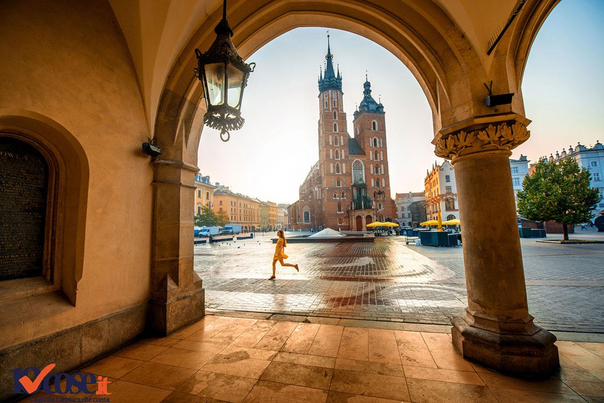 La Basilica di Santa Maria a Cracovia