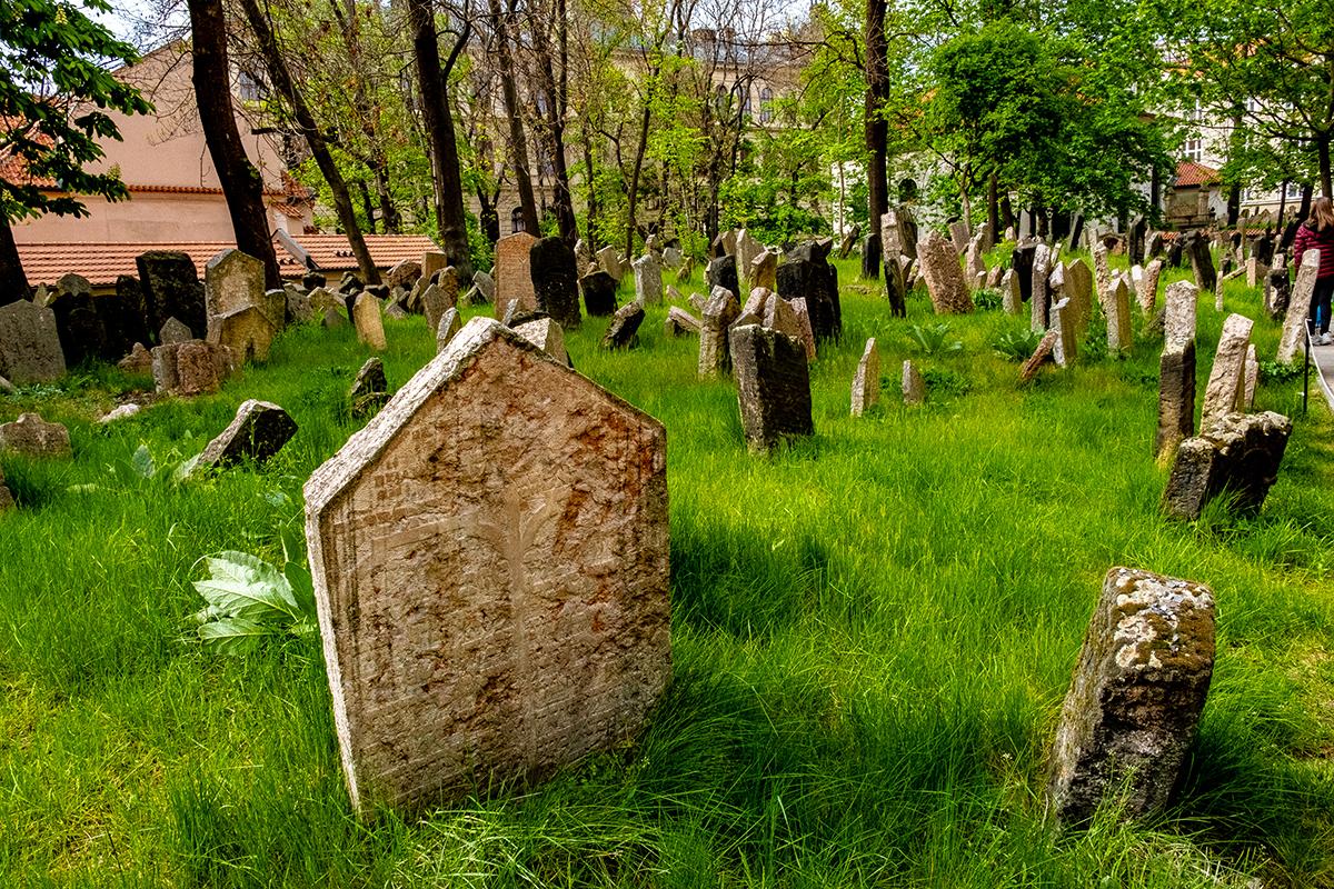 Il Cimitero Ebraico ebraico di Praga