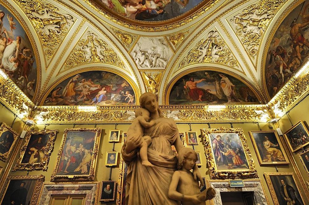 La galleria palatina di palazzo pitti a firenze orari e for Palazzo pitti orari