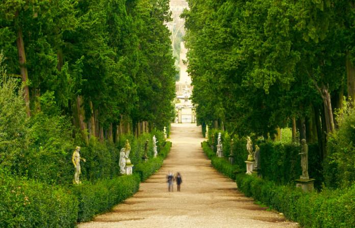 Il giardino di boboli a firenze for Giardino labirinto
