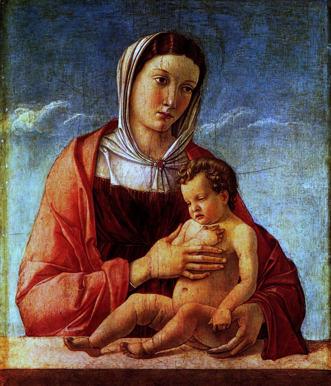 La Madonna col Bambino del Bellini