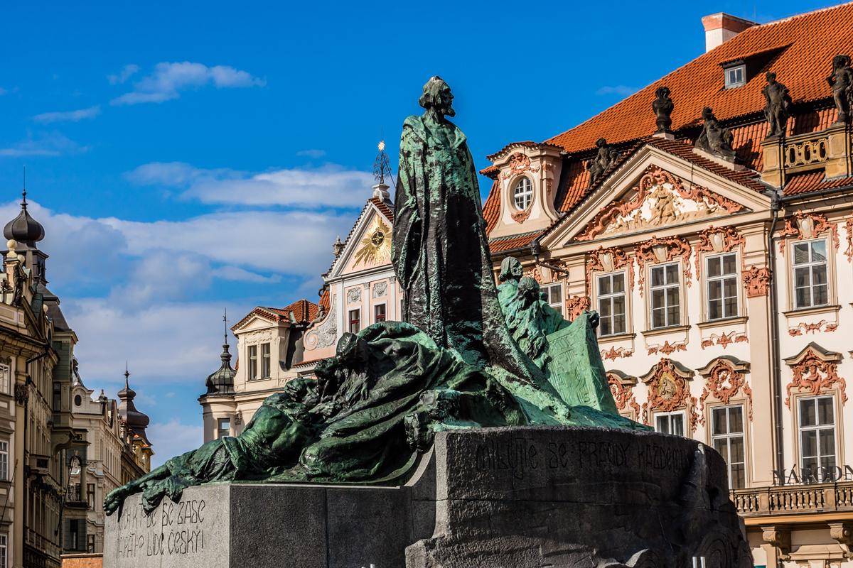 Il Monumento a Jan Hus