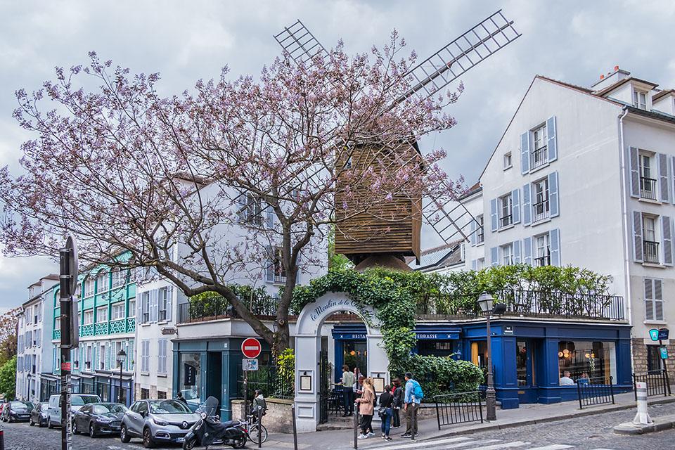 Rue Lepic e il Moulin de la Galette