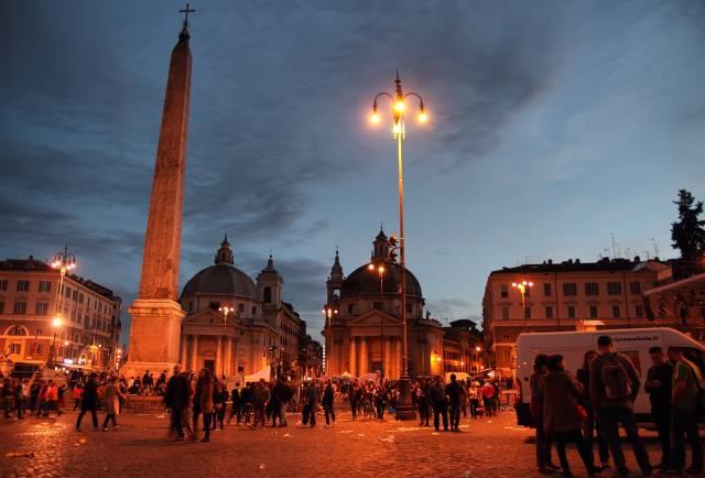 L'Obelisco di Piazza del Popolo