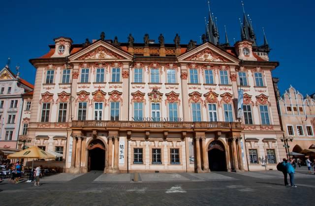 Palazzo Kinsky a Praga