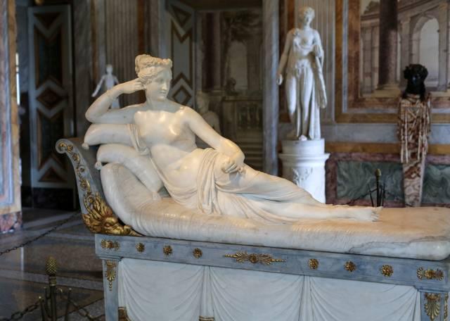 Paolina Borghese sdraiata di Antonio Canova