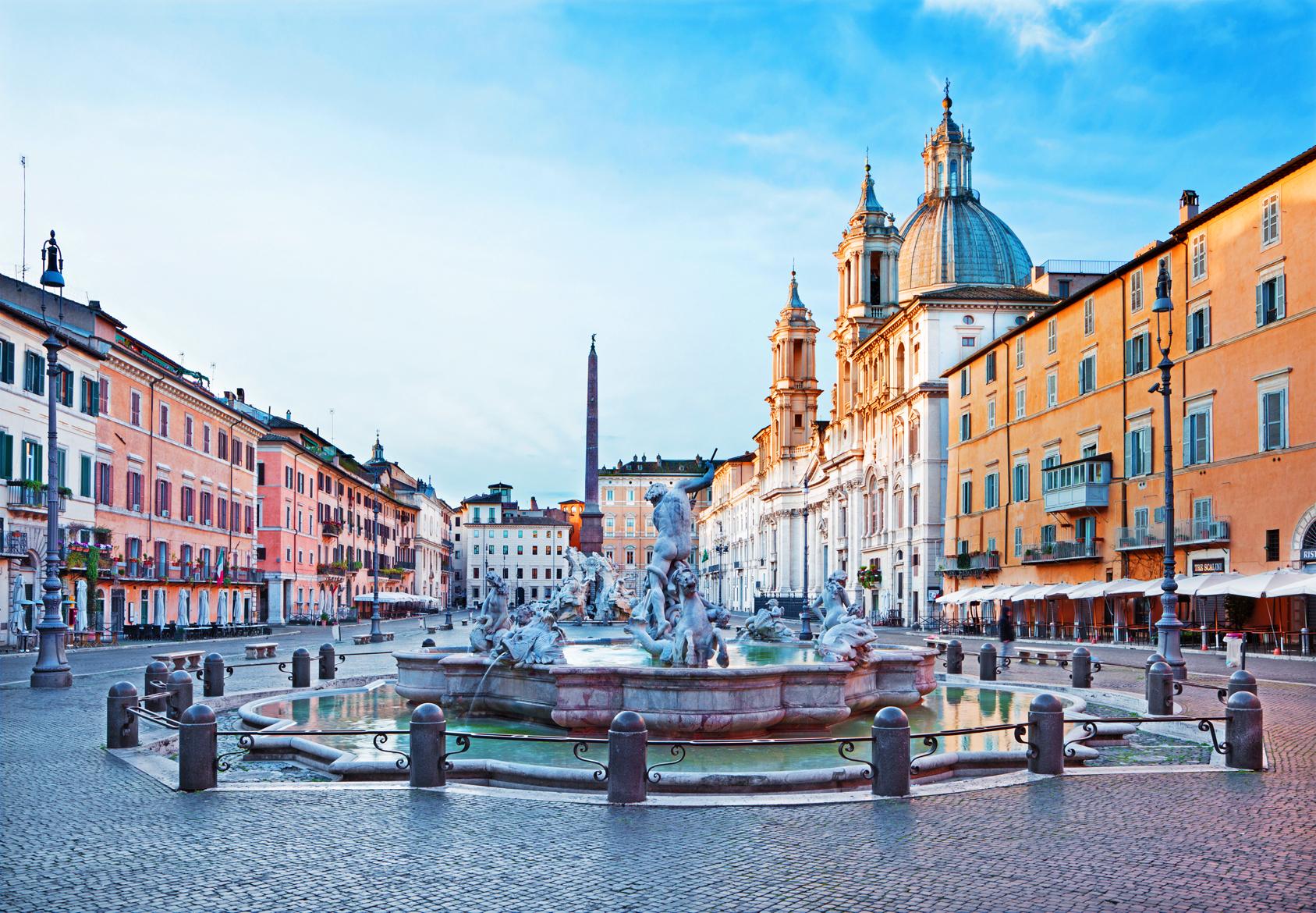 Piazza navona a roma - La finestra di fronte roma ...