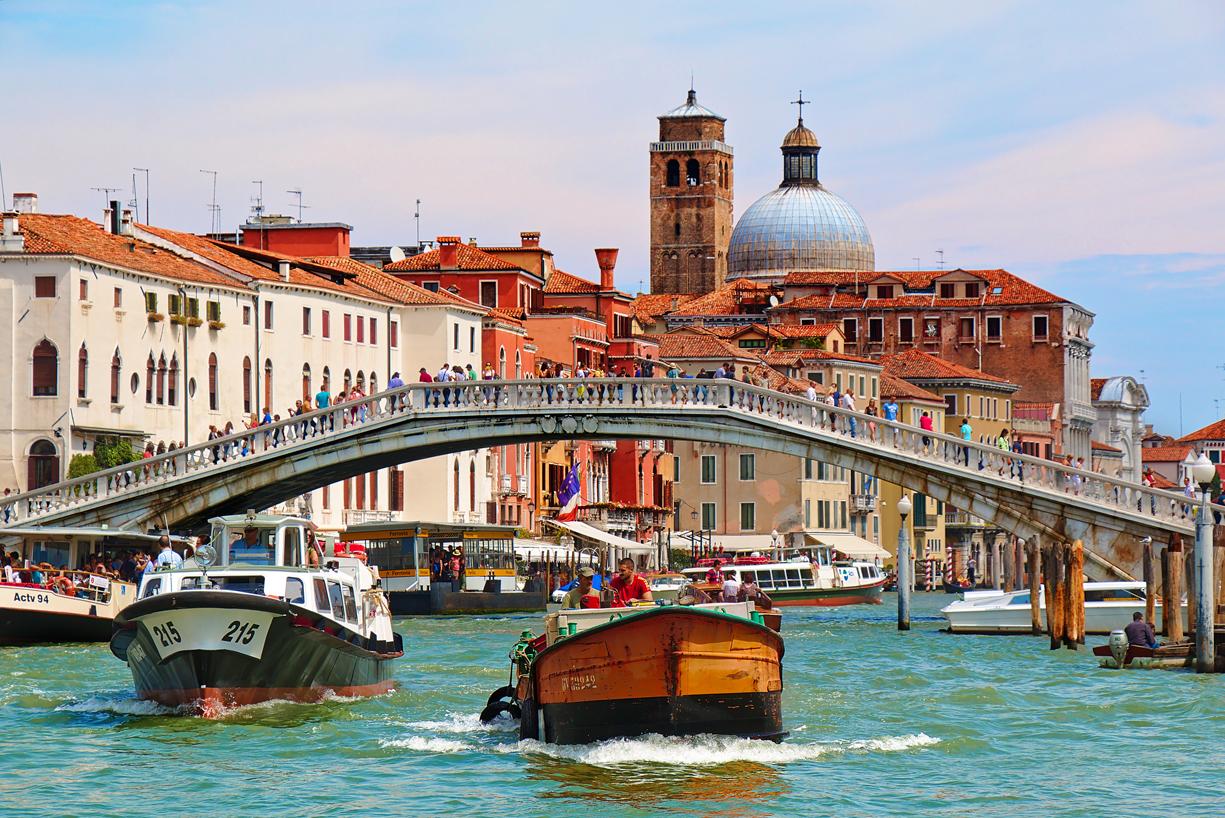 Il Ponte degli Scalzi a Venezia