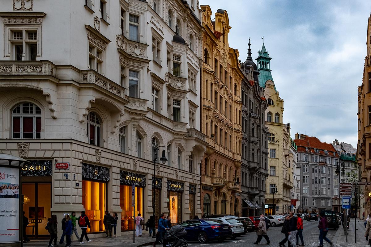 Il quartiere ebraico di Praga