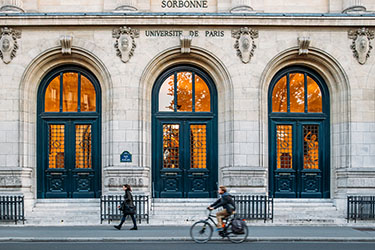 La Sorbonne nel Quartiere Latino