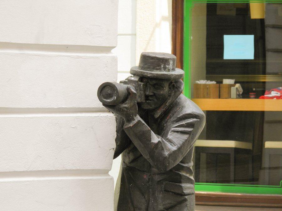 Statua del Paparazzo a Bratislava