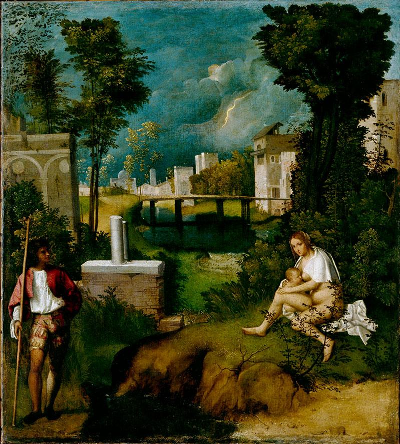 La tempesta di Giorgione alle Gallerie dell'Accademia