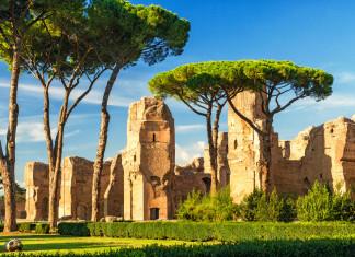 Le Terme di Caracalla a Roma