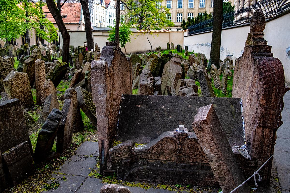 La tomba del Rabbino Loew a Praga