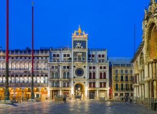 La Torre dell'Orologio a Venezia