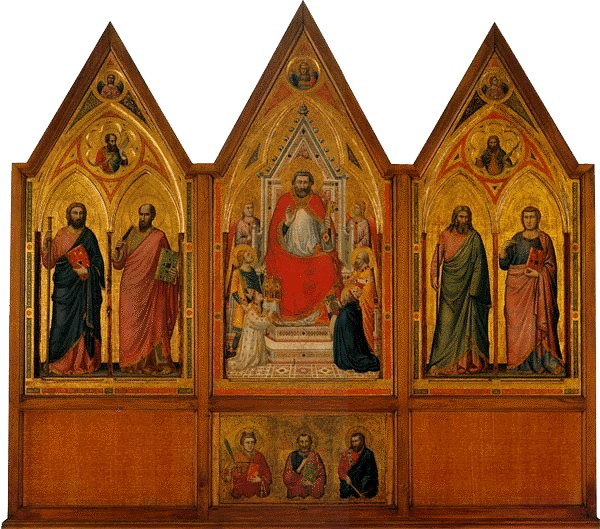 Il Trittico Stefaneschi di Giotto
