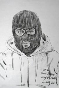 Il ritratto di Banksy